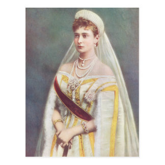 Her Imperial Majesty The Empress of Russia Postcard