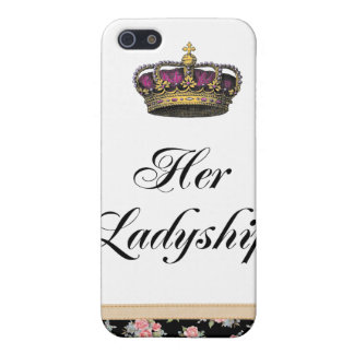 Her Ladyship iPhone 5 Case