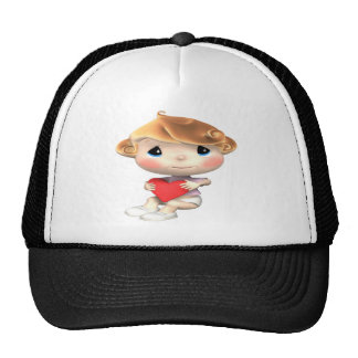 Her Little Heart T-shirts and Gifts Mesh Hats