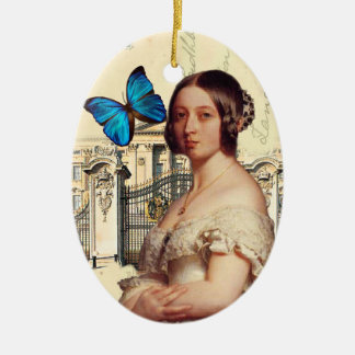 Her Majesty Queen Victoria Ceramic Oval Decoration