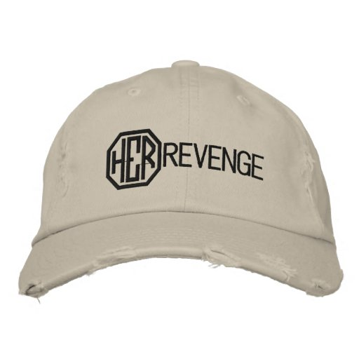 Her Revenge Hat Embroidered Baseball Cap