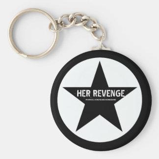 Her Revenge Star Keychain