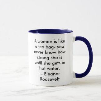 Her-story: Eleanor Roosevelt.