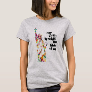 Her Torch is Raised Shirt