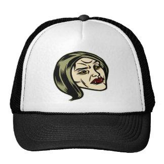 Her Vampire Fangs Trucker Hats