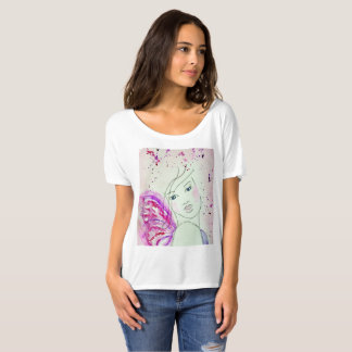 Her Wings Brought Life To Her Soul,  original art T-Shirt