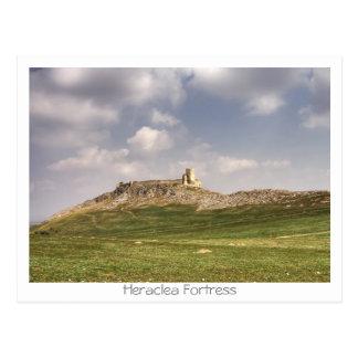 Heraclea Fortress Postcard