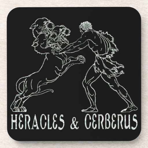 Heracles and Cerberus Coasters