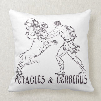 Heracles and Cerberus Pillow