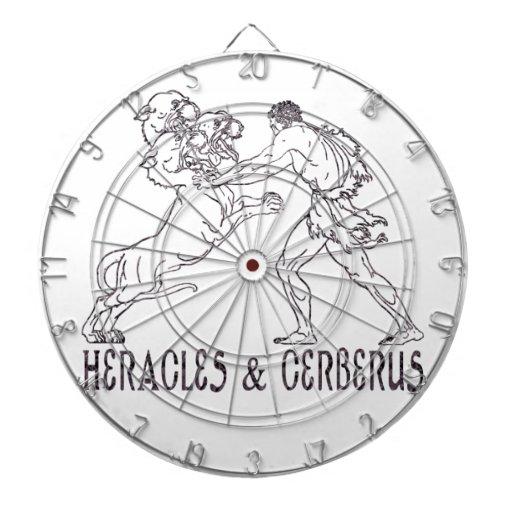 Heracles and Cerberus Dart Board