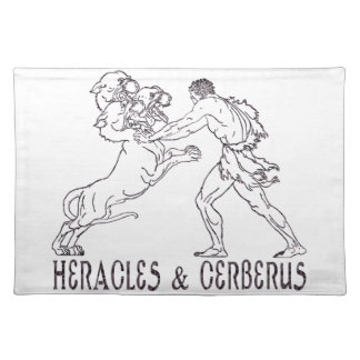 Heracles and Cerberus Place Mats