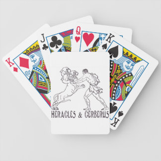 Heracles and Cerberus Bicycle Card Deck
