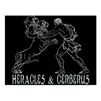 Heracles and Cerberus Postcard