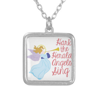 Herald Angels Silver Plated Necklace