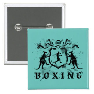 Heraldic Boxing Button