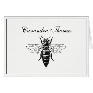 Heraldic Bumble Bee Queen Coat of Arms Frame H Card
