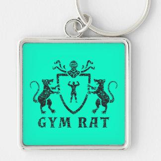 Heraldic Gym Rat Keychain