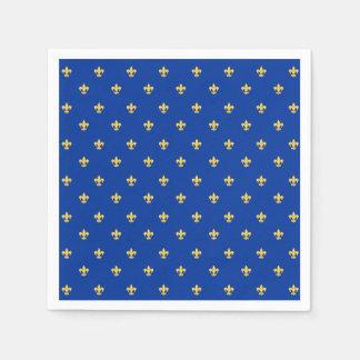 Heraldic Lilly Paper Napkin