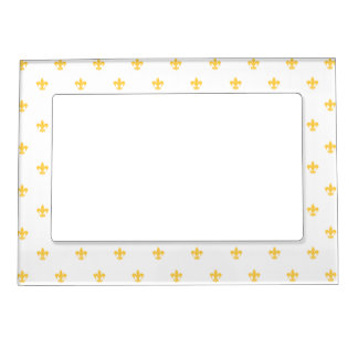 Heraldic Lily Magnetic Picture Frame