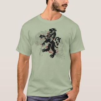 Heraldry Grunge Lion T-Shirt