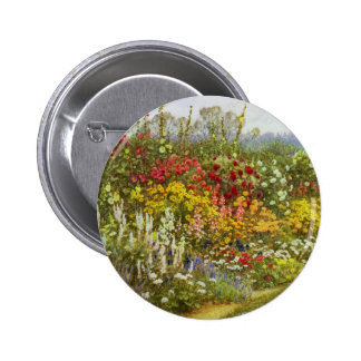 Herb and Flower Border Buttons