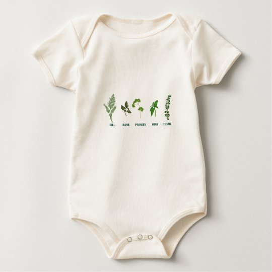 Herb Collection Baby Bodysuit