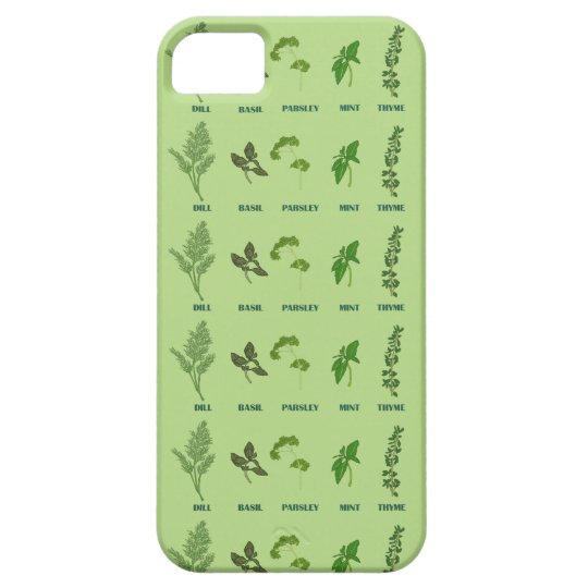 Herb Collection Case For The iPhone 5
