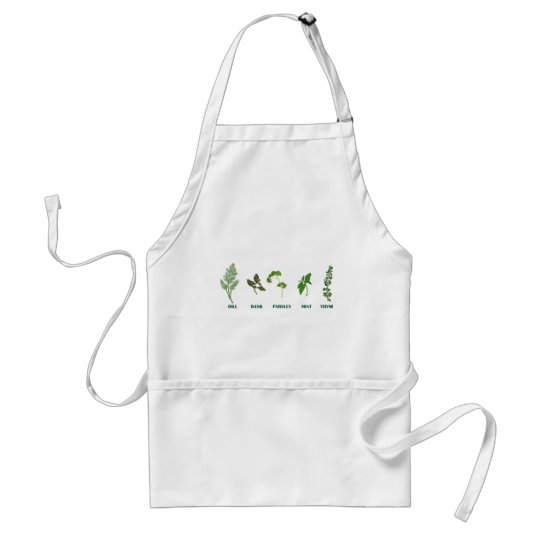 Herb Collection Standard Apron
