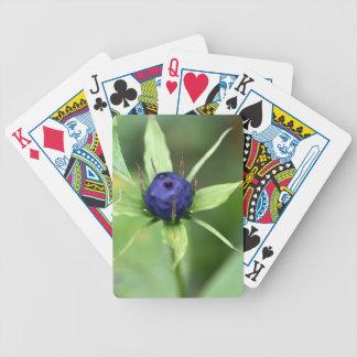 Herb paris (Paris quadrifolia) Bicycle Playing Cards