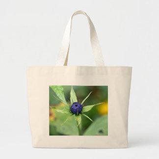 Herb paris (Paris quadrifolia) Large Tote Bag