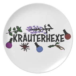 Herb witch plate