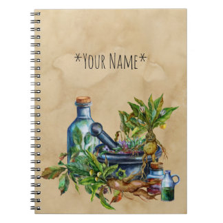 Herbalist's Collection Notebook