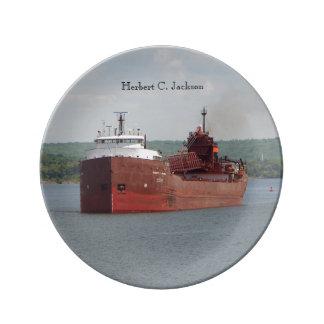 Herbert C. Jackson decorative plate