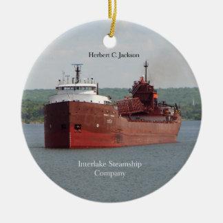 Herbert C. Jackson ornament