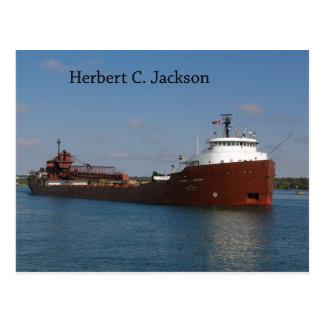 Herbert C. Jackson post card
