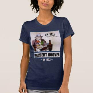 Herbert Hoover 1932 Campaign Women's Dark T-shirt