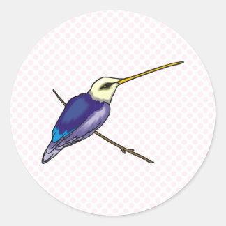Herbert Hummingbird Stickers
