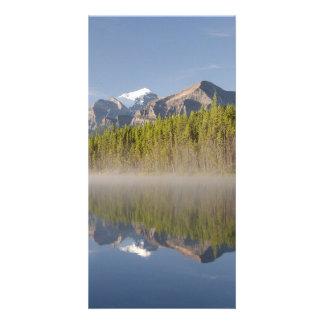 Herbert Lake at Icefields Parkway Alberta Canada Photo Greeting Card