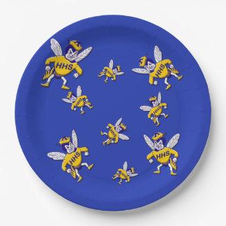 Herbie the Hornet Paper Plates