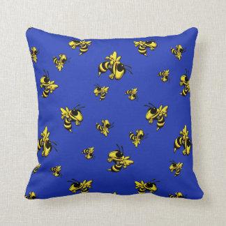Herbie the Hornet Throw Pillow