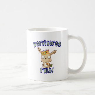 Herbivores Rule Coffee Mug