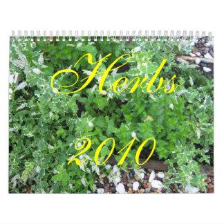 Herbs   2010 calendar