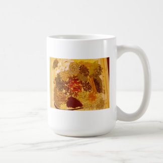 Herbs and Spices Collage Basic White Mug