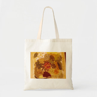 Herbs and Spices Collage Budget Tote Bag