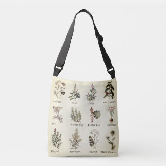 Herbs and Spices full color illustrations bag