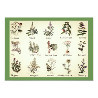 Herbs and Spices Invitations