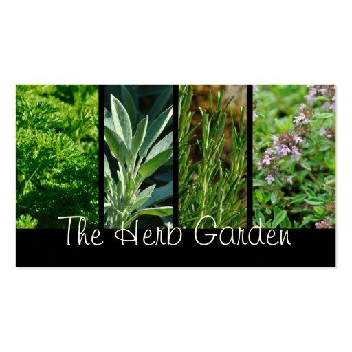 Herbs business card