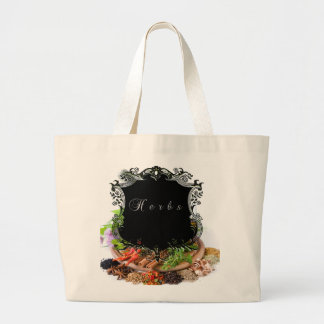 Herbs Large Tote Bag