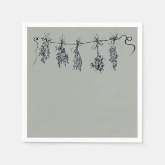 Herbs Paper Napkin