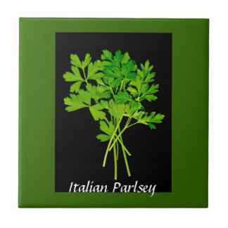 herbs - parsley tile